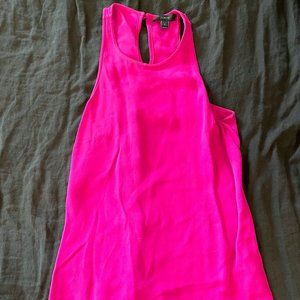 J Crew Pink Sleeveless Top, Size 0, NWOT